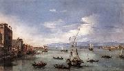 GUARDI, Francesco The Lagoon from the Fondamenta Nuove serg oil painting picture wholesale