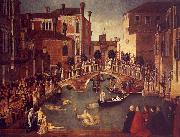 Gentile Bellini The Miracle of the True Cross near the San Lorenzo France oil painting reproduction