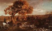 George Stubbs The Grosvenor Hunt oil painting picture wholesale