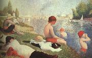 Georges Seurat Bathing at Asniers oil painting picture wholesale