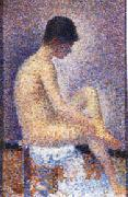 Georges Seurat Model oil painting picture wholesale