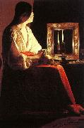 Georges de La Tour The Penitent Magdalen oil painting