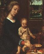 Gerard David The Madonna of the Milk Soup oil painting picture wholesale