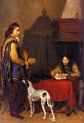 Gerard Ter Borch The Dispatch France oil painting reproduction