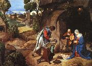 Giorgione The Adoration of the Shepherds oil painting picture wholesale