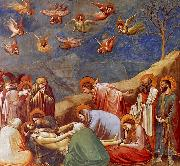 Giotto The Lamentation oil painting artist