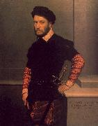 Giovanni Battista Moroni Portrait of the Duke of Albuquerque oil