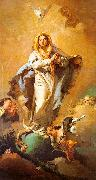 Giovanni Battista Tiepolo St.Thecla Liberating the City of Este from the Plague oil painting artist