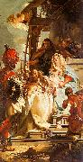 Giovanni Battista Tiepolo Mercury Appearing to Aeneas oil painting artist