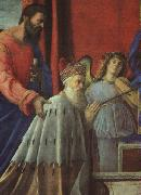 Giovanni Bellini The Doge Barbarigo, St John and Musician Angels (Detail) oil painting picture wholesale