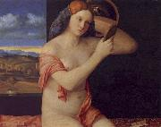 Giovanni Bellini Young Woman at her Toilet oil painting picture wholesale