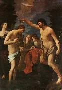 Guido Reni Baptism of Christ oil painting artist