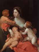 Guido Reni Charity oil painting artist