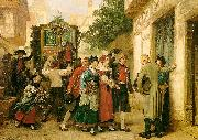 Gustave Brion Wedding Procession oil painting artist