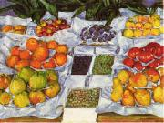 Gustave Caillebotte Fruit Displayed on a Stand France oil painting reproduction