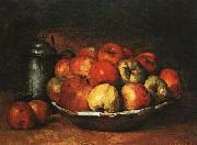 Gustave Courbet Still Life with Apples and Pomegranates oil painting picture wholesale