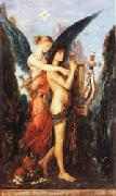 Gustave Moreau Hesiod and the Muse oil painting picture wholesale