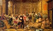HALS, Dirck The Fete Champtre oil painting artist