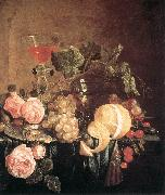 HEEM, Jan Davidsz. de Still-Life with Flowers and Fruit swg oil painting picture wholesale