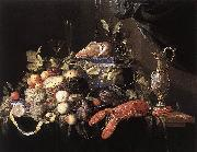 HEEM, Jan Davidsz. de Still-Life with Fruit and Lobster sg oil painting picture wholesale