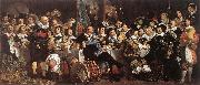 HELST, Bartholomeus van der Celebration of the Peace of Mnster, 1648, at the Crossbowmen s Headquarters oil painting picture wholesale