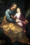 HERRERA, Francisco de, the Elder St Joseph and the Child sr oil painting picture wholesale