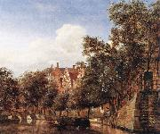 HEYDEN, Jan van der View of the Westerkerk, Amsterdam  sf oil painting picture wholesale