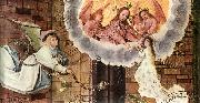 HOLBEIN, Hans the Elder Death of the Virgin (detail) f oil painting artist