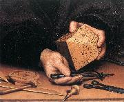 HOLBEIN, Hans the Younger Portrait of Nikolaus Kratzer (detail) sg oil painting picture wholesale