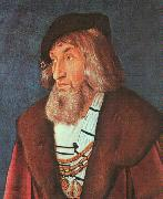 Hans Baldung Grien  Portrait of a Man  6 oil