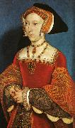 Hans Holbein Portrait of Jane Seymour oil painting artist