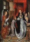 Hans Memling The Annunciation  gggg oil painting picture wholesale