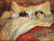Henri De Toulouse-Lautrec The bed oil painting picture wholesale