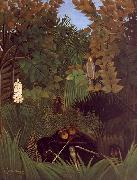 Henri Rousseau The Monkeys oil painting artist