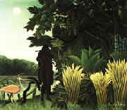 Henri Rousseau The Snake Charmer oil painting picture wholesale