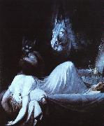 Henry Fuseli Nightmare s oil painting artist