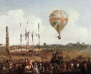 IBBETSON, Julius Caesar George Biggins' Ascent in Lunardi' Balloon sf oil painting picture wholesale