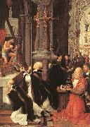 ISENBRANT, Adriaen Mass of St Gregory sf oil painting picture wholesale