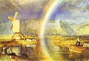 J.M.W. Turner Arundel Castle, with Rainbow. oil painting picture wholesale