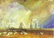J.M.W. Turner Stonehenge. oil painting picture wholesale