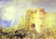 J.M.W. Turner Carisbrook Castle Isle of Wight oil painting picture wholesale