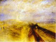 J.M.W. Turner Rain, Steam and Speed - Great Western Railway oil painting reproduction