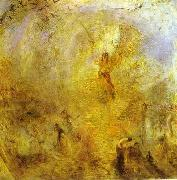 J.M.W. Turner The Angel, Standing in the Sun. oil painting artist