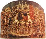 JACOBELLO DEL FIORE Coronation of the Virgin sf oil painting picture wholesale
