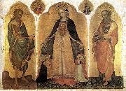 JACOBELLO DEL FIORE Triptych of the Madonna della Misericordia g oil painting picture wholesale