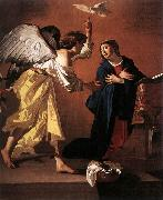 JANSSENS, Jan The Annunciation f oil painting artist