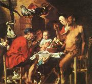 JORDAENS, Jacob Christ Driving the Merchants from the Temple zg oil painting picture wholesale