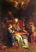 JOUVENET, Jean-Baptiste The Education of the Virgin sf oil painting picture wholesale