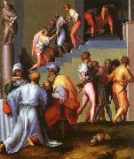 Jacopo Pontormo Punishment of the Baker oil painting picture wholesale