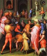 Jacopo Pontormo Joseph being Sold to Potiphar oil painting picture wholesale